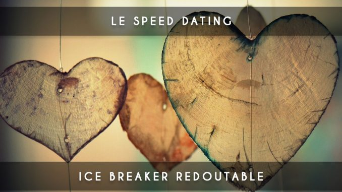 speed dating - ice breaker