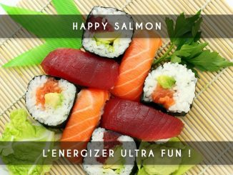 happy salmon - ice breaker